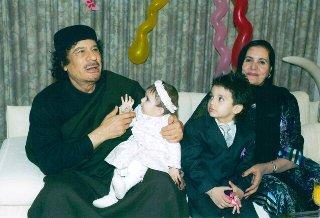 Муаммар и Мастура Каддафи